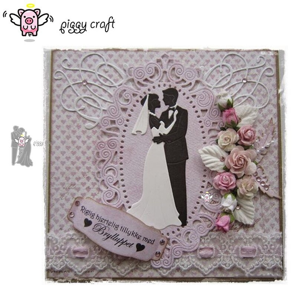stencil, Scrapbooking, Bride, Metal