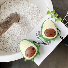 case, cute, wirelessearphoneprotectcover, shockproofairpodcover