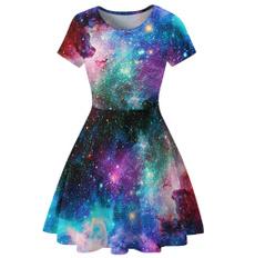 Summer, Club Dress, Shorts, Sleeve
