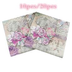 babyshower, papernapkin, Home Decor, handkerchief