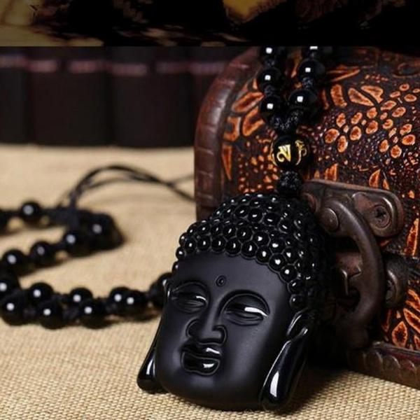 Head, buddhismjewelry, gemstonenecklace, Jewelry