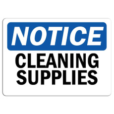 notice, Supplies, Stickers, sign