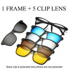 Magnet, Polarized, cliponglasse, myopiasunglasse