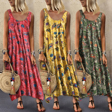 bigswing, Summer, Necks, long dress