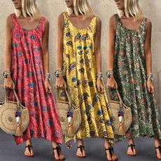 bigswing, Summer, Necks, long dress