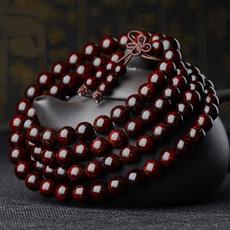 sandalwood, buddhabead, loversgiftcouplebracelet, Jewelry