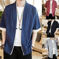 yukata, Fashion, Floral print, kungfushirt