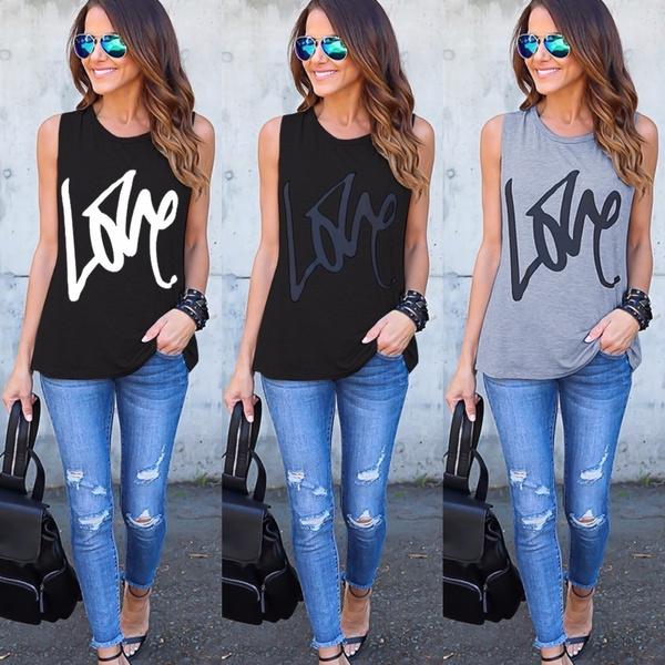 blouse, Tanktops for women, Vest, Fashion
