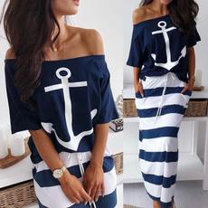 Summer, suitset, Plus Size, Sleeve