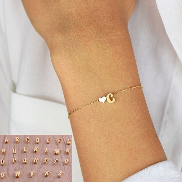 Heart, Jewelry, Gifts, delicatebracelet