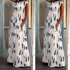 Summer, Plus Size, long dress, Evening Dress