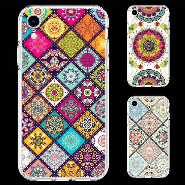 Mandalas Wallpaper Phone Case For Samsung M30 M20 M10 A50 A40 A30 A10 A9 A8 A7 A6 A5 J8 J7 J6 J5 J4 S10 S9 S8 S7 S6 Note9 Note8 Iphone Xr Xs