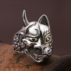 Sterling, Jewelry, skull, Silver Ring