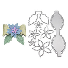 bowflower, Decor, Flowers, Scrapbooking