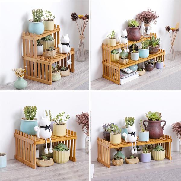 storagerack, flowerrack, flowerpot, Garden