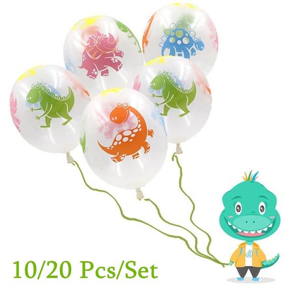 latex, jurassic, birthdayballoon, colorfulballoon