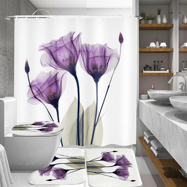 Bath, Polyester, Decor, bathroomshowercurtain