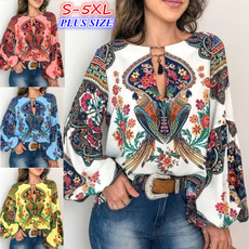 blouse, Vintage, Plus Size, Shirt
