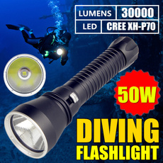 Flashlight, amphibiou, Outdoor, led