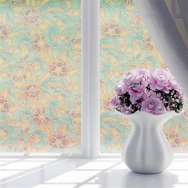 windowdecal, Decor, Flowers, windowsticker