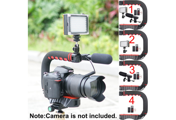 Canon PowerShot ELPH 160 IXUS 160 Vertical Shoe Mount Stabilizer Handle Pro Video Stabilizing Handle Grip for