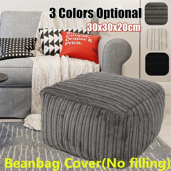 beanbagcover, beanbag, footstool, Home Decor