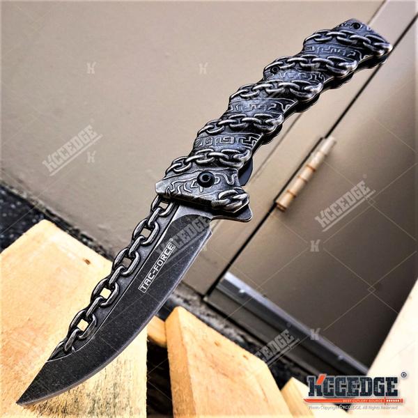 Steel, chainknife, pocketknife, assistedopenknife