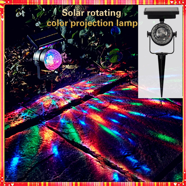 Outdoor, Garden, outdoorsolarenergycolorfullight, solarenergyrotatinglight