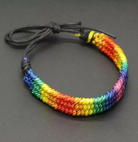 rainbow, Rope, lgbtpride, Jewelry