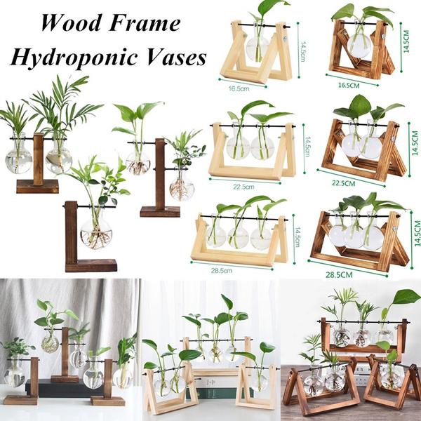 Bonsai, glassplanter, Flowers, hydroponicvase