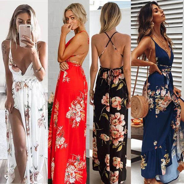 sleeveless, Plus Size, Summer, Dresses
