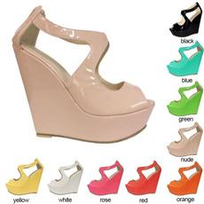 wedge, Suede, Womens Shoes, Peep Toe