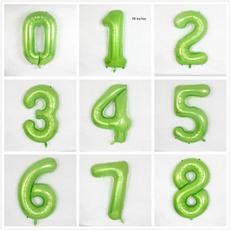 PC, digitalballoon, Green, numberballoon