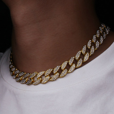 cubanchainnecklace, Chain Necklace, hip hop jewelry, Jewelry
