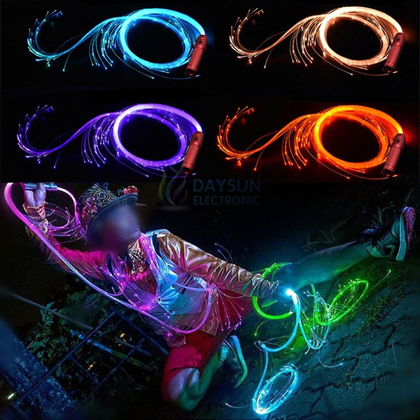 Neon coloured whip