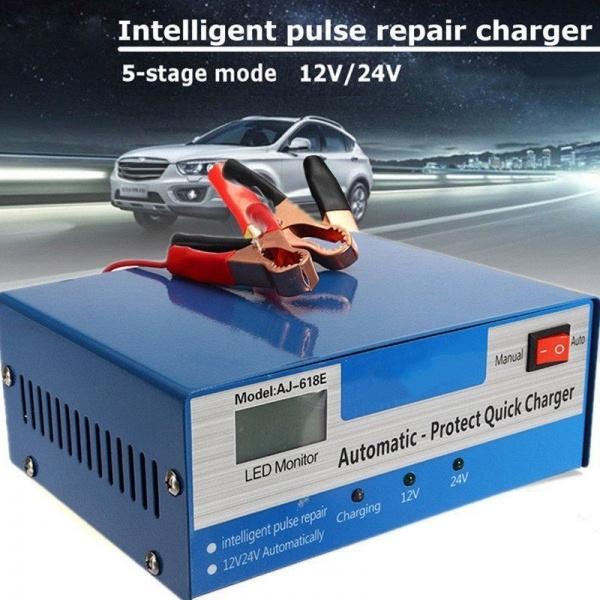 carbatterycharger, Battery Charger, intelligentpulserepair, Battery