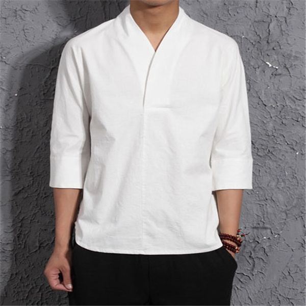 koreanshortsleeve, Cotton Shirt, Shirt, menswear