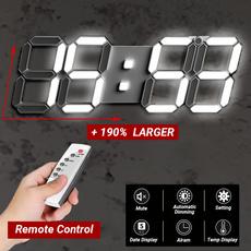 digitaldeskclock, Remote Controls, Alarm Clock, ledalarm