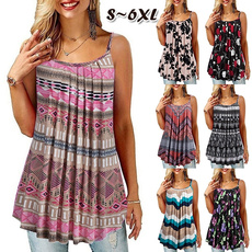 Summer, fashion women, Plus Size, Tank