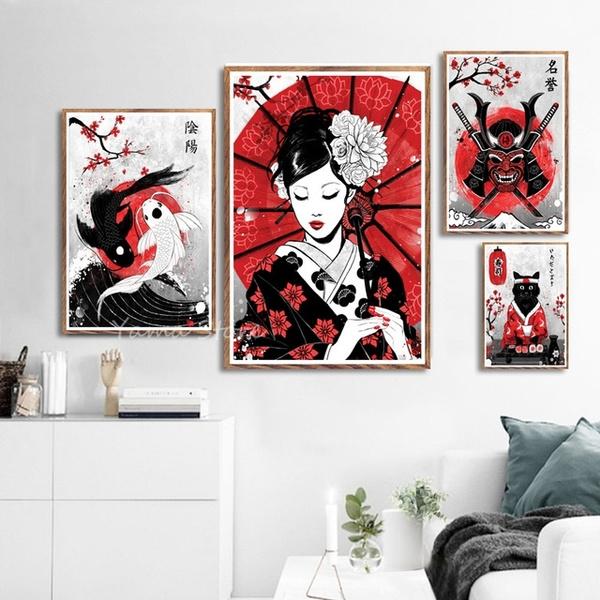 art, Home Decor, watercolormodernposter, Posters