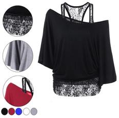blouse, lace trim, Fashion, tunic