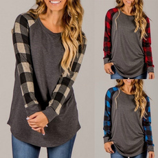 blouse, raglantop, Plus Size, Shirt