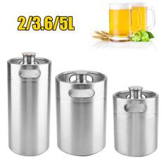 Steel, Mini, beermaking, Stainless