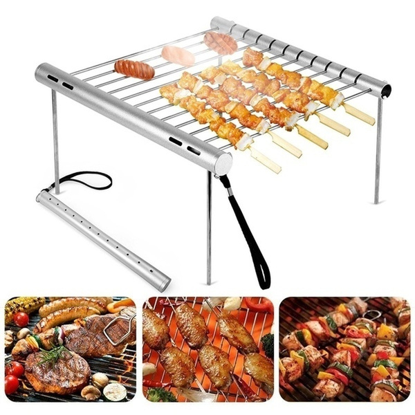 Steel, Grill, Outdoor, Aluminum