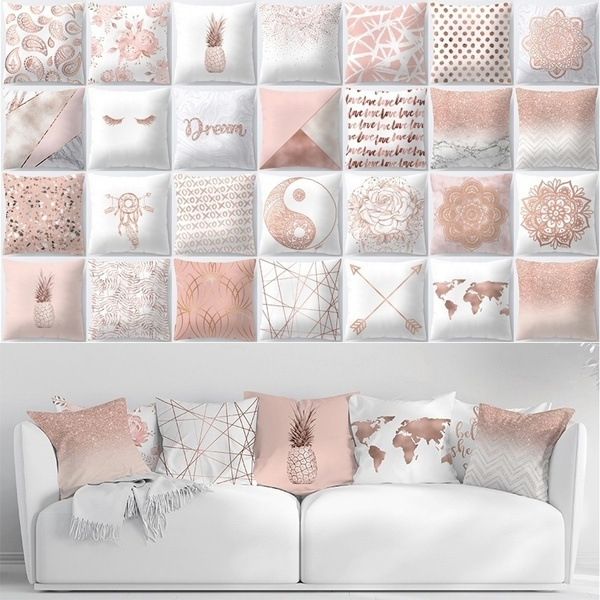 pink, decoration, Home Decor, gold