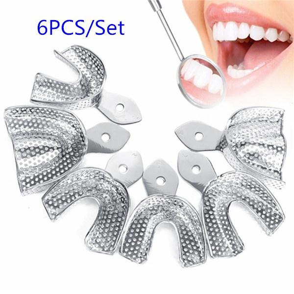 Steel, dentureinstrument, impressiontray, dentaltray