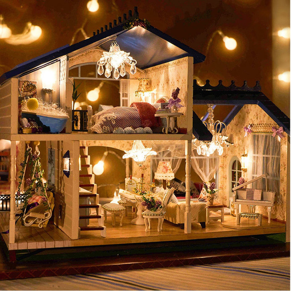 Decor, dollhousefurniture, led, Christmas