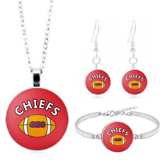 Kansas City Chiefs, kansascitychiefsjersey, Jewelry, Gifts