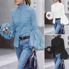 blouse, Collar, Plus Size, Shirt