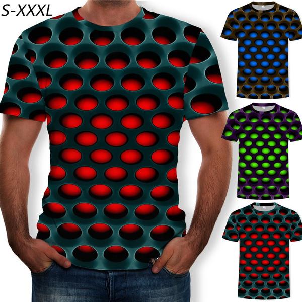 Funny T Shirt, Men's Fashion, Sleeve, geometricpattern